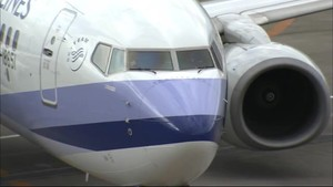富山ー台北便 冬の臨時便初めて運航