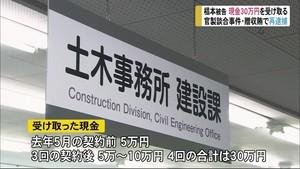 富山市の官製談合 贈収賄の疑いで再逮捕