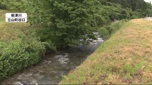 栃津川で90歳女性遺体