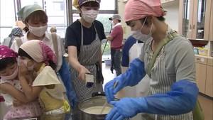 黒部市 豆腐作りの体験会